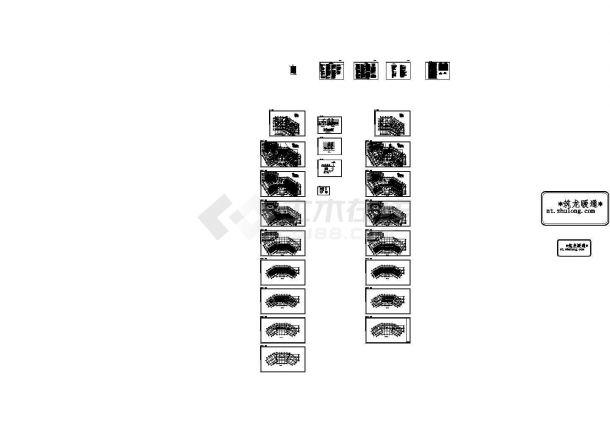 [广东]多层公共建筑空调通风排烟系统设计施工图(风冷热泵)(CAD,25张图纸)-图一