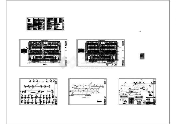 [山东]住宅建筑给排水图纸(太阳能热水 含地下室)-图二