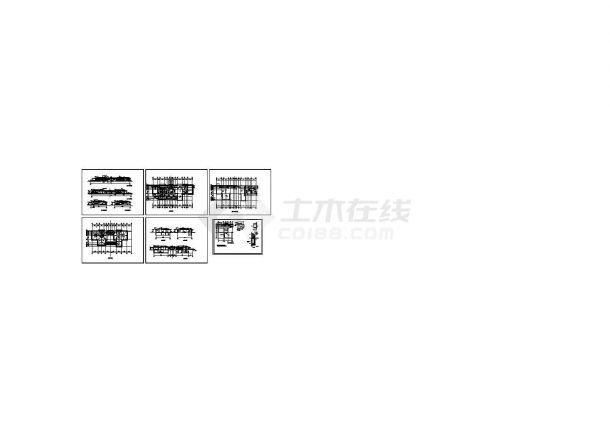 某酒店健身中心建筑设计CAD建筑图(含地下室设计)-图一