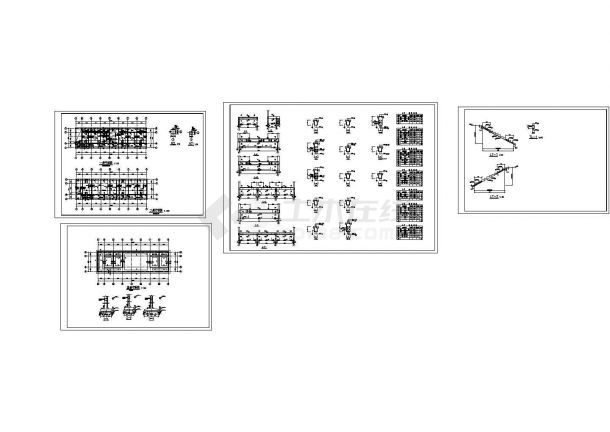 日光温室生态园大棚、展厅建筑结构全套图(CAD,40张图纸)含钢结构设计说明-图一