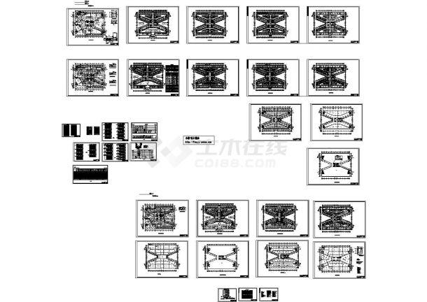 -1+5层市中心医院外科大楼电施设计图-图一