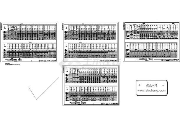 某造纸车间低压配电系统图-图二