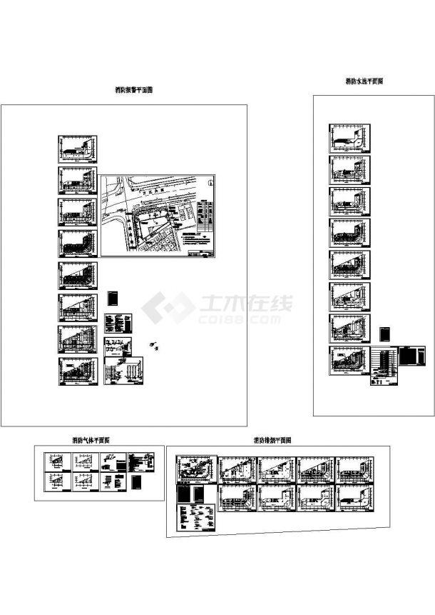某12267.7m28层农贸市场综合楼消防设计施工图(设计说明)-图一