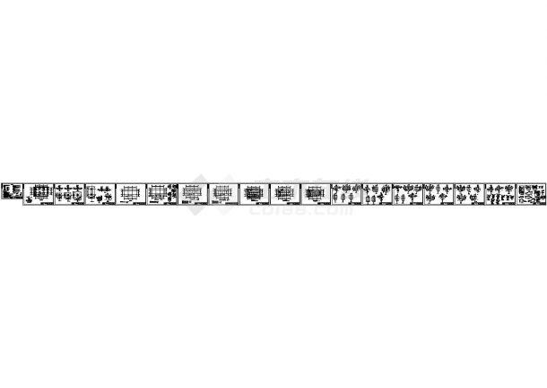 某三层钢结构办公楼设计cad全套结构施工图(含设计说明)-图二
