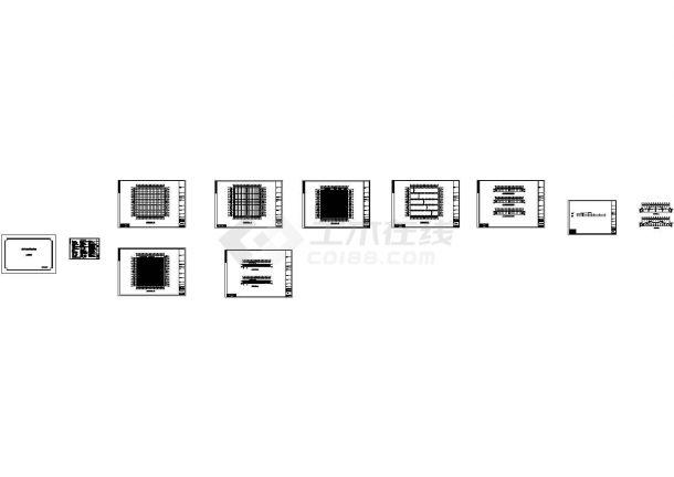 水头某石材公司钢结构工程CAD设计图纸-图二
