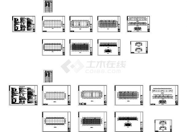 南京金太阳石材城工程CAD设计图纸-图一