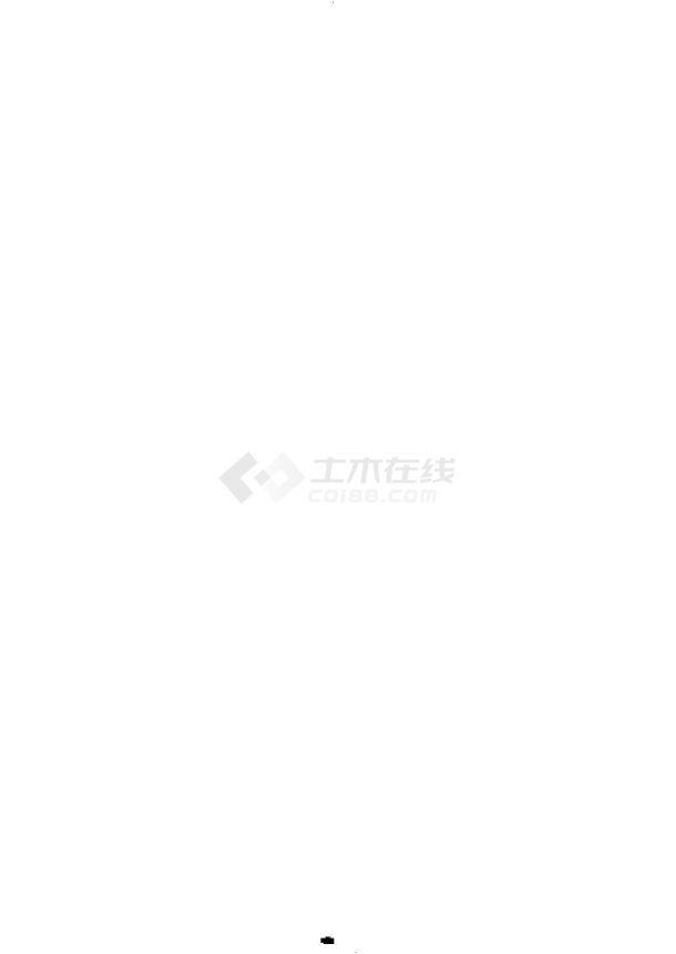 5层峡江特色宾馆综合楼规划设计建筑施工cad图纸,共十四张-图二