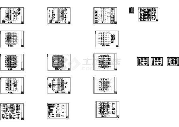 2019最新规范混凝土厂房结构图-图一
