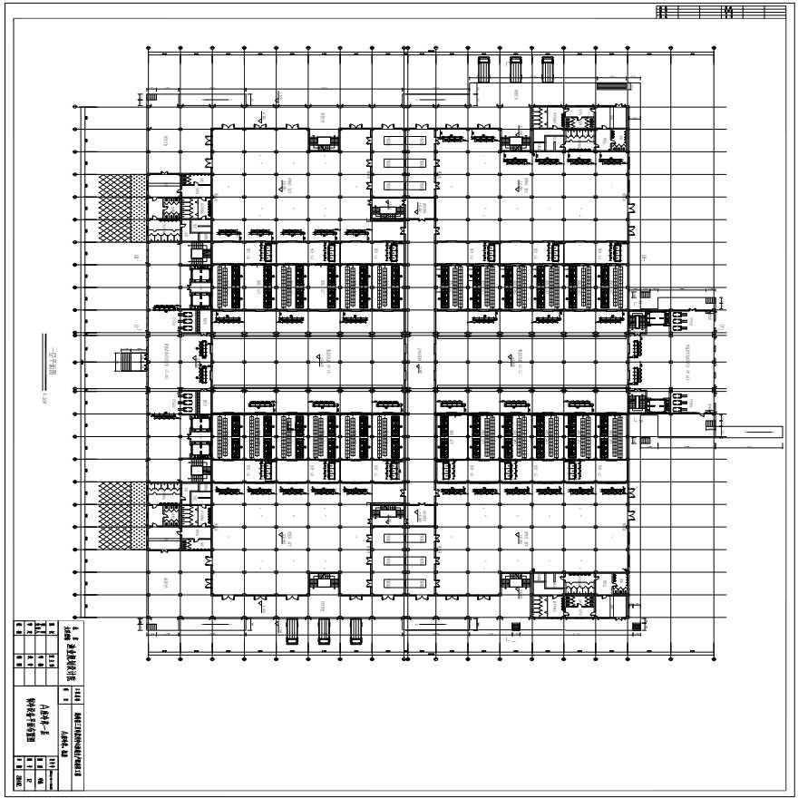 三亚A座冷库设备表-制冷系统图纸-图一