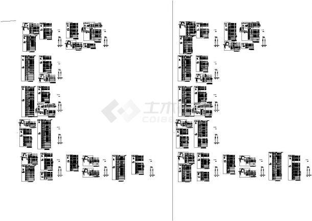 同济科技园A楼二三层配电箱系统设计cad图纸-图一