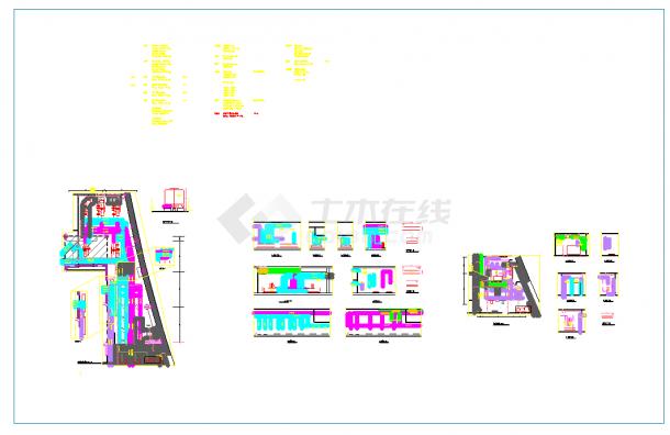 冷冻机房、锅炉房大样图(医院+大商业+办公等5个项目)-图二