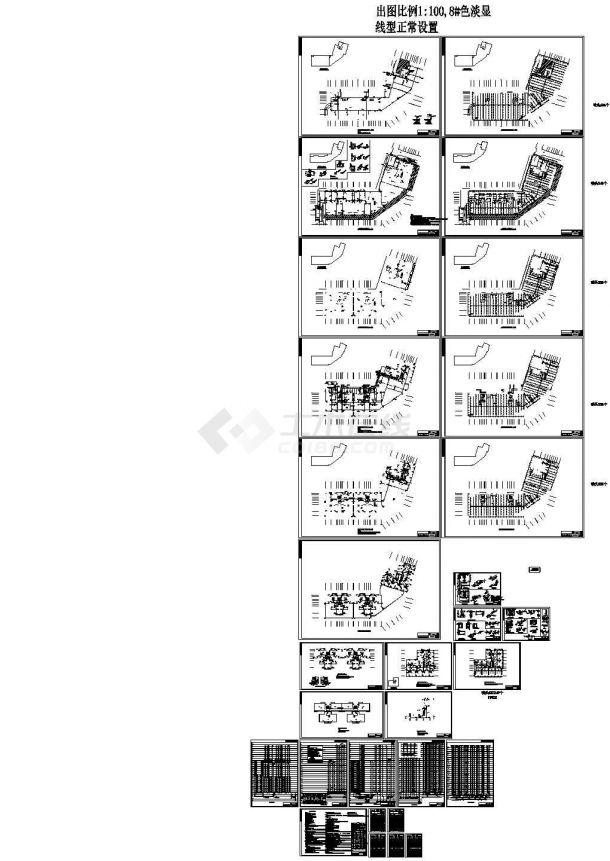 [湖南]高层综合楼给排水施工图-图一