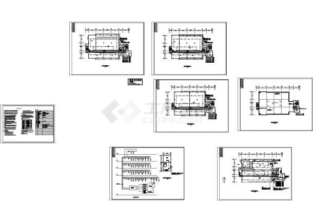 扬州某写字楼消防自动报警系统设计CAD施工图-图一
