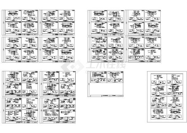 某公司钢结构节点收边详图集(单层),共15张-图一