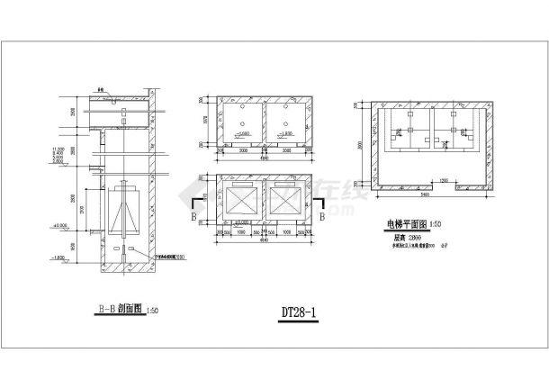 某正规设计院建筑楼梯设计图图集-图一