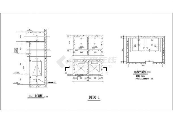 某正规设计院建筑楼梯设计图图集-图二