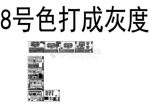28层框支剪力墙住宅结构施工图(3栋)-图二