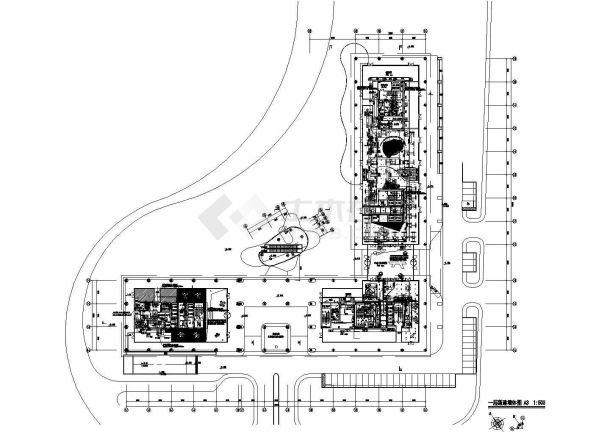 住宅楼空调及通风排烟系统设计施工图-图一