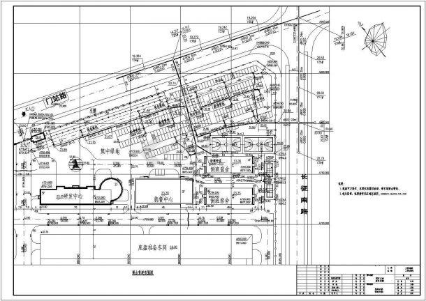 安徽某物流公司厂区给排水工程CAD施工图-图二