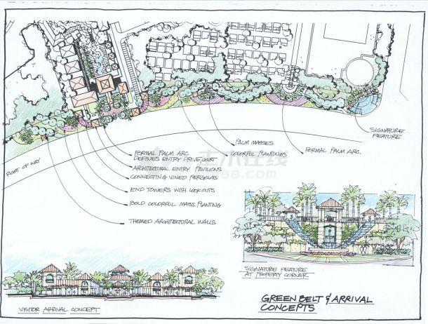 国外垂钓主题小区景观设计方案-图二