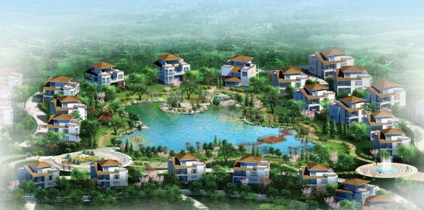 山东居住区景观设计方案图-图一