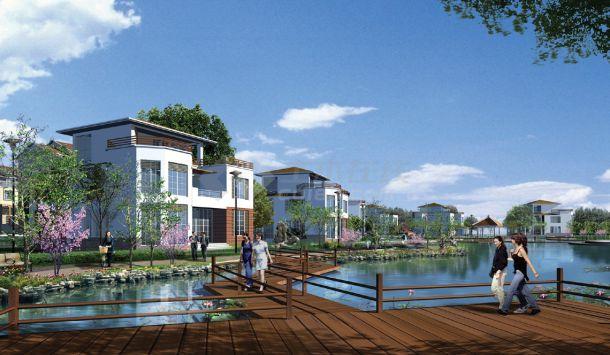山东居住区景观设计方案图-图二