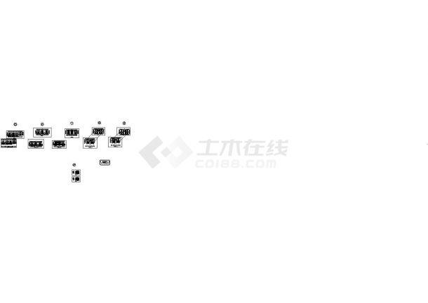 某小区太阳能屋面发电站设计图(CAD,10张图纸)-图二