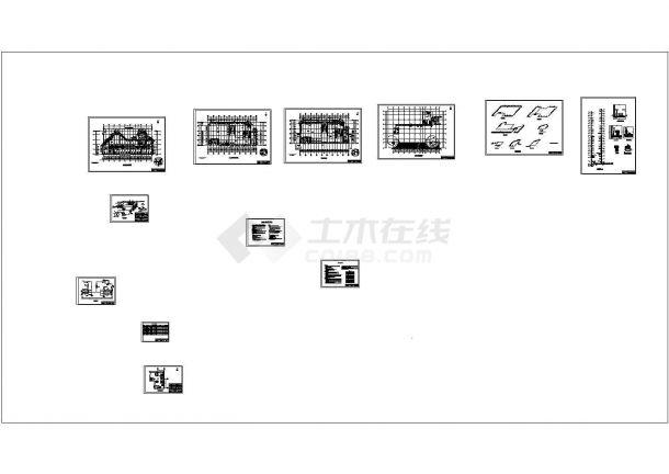 土木工程毕业设计_某大厦分户采暖和换热站毕业设计图纸-图一