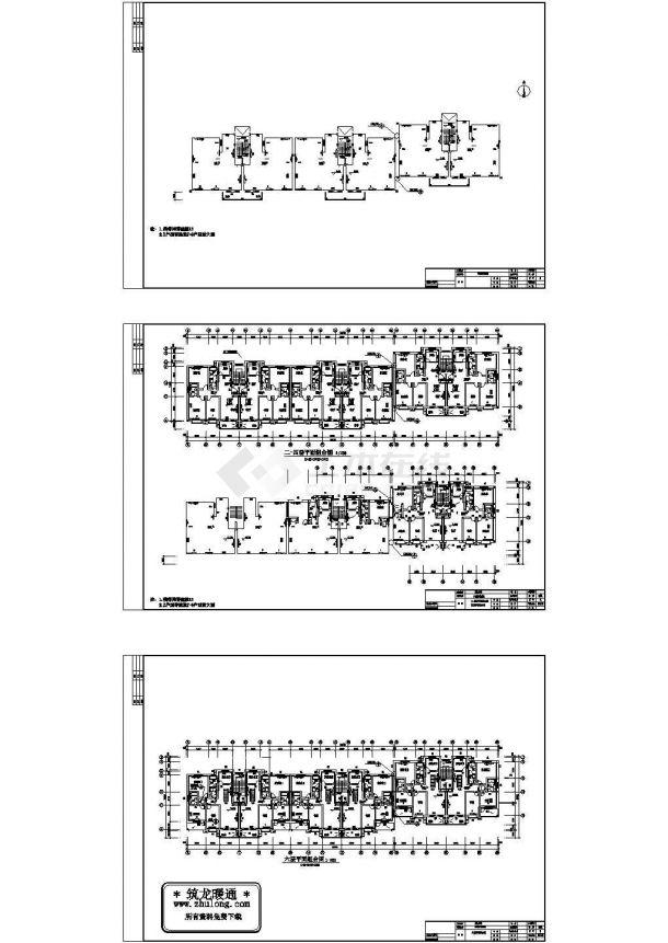 土木工程毕业设计_某小区7#住宅楼分户计量采暖毕业设计图纸-图一