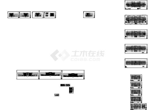 [江西]某十一层钢筋混凝土结构办公楼建筑结构施工图-图一