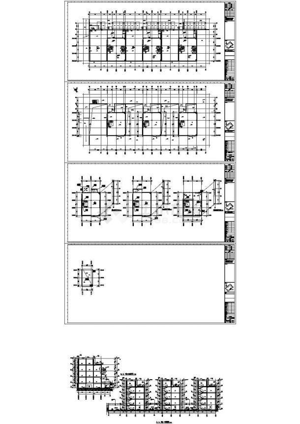 [深圳]高层厂房建筑给排水施工图纸(同层排水 气体消防)(绘图细致)-图一