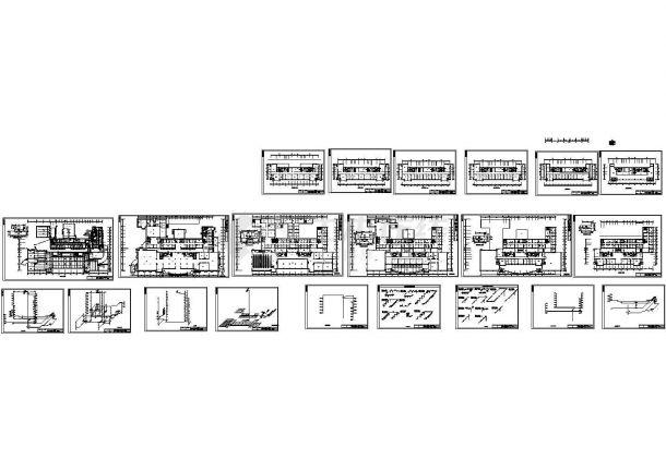 某机关高层办公楼给排水给排水图纸(毕业设计)-图一