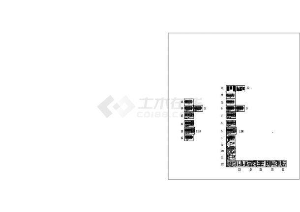[甘肃]1.2万平米公租房给排水施工图(绘图细致)-图一