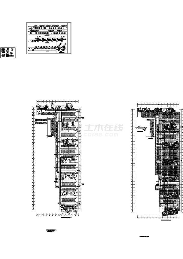 [青海]住宅小区室内外给排水施工图(绘图细致)-图二