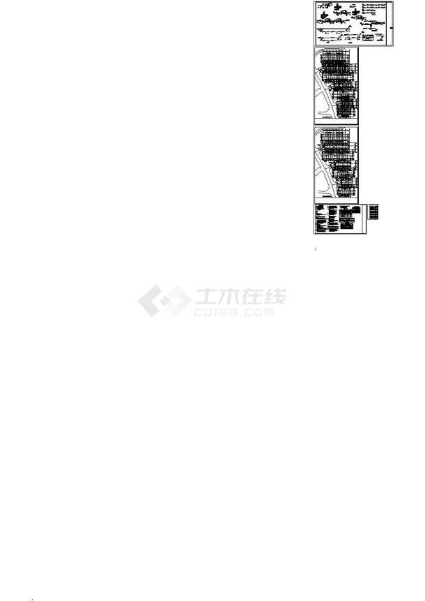 [辽宁]多层居住建筑给排水施工图 (同层排水)-图二
