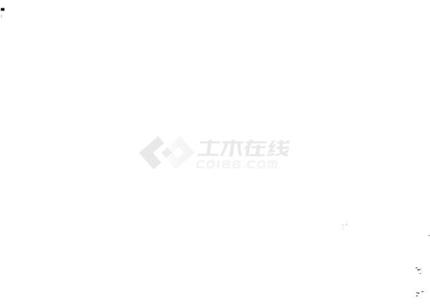 广西某6层砌体结构住宅楼设计施工图-图二