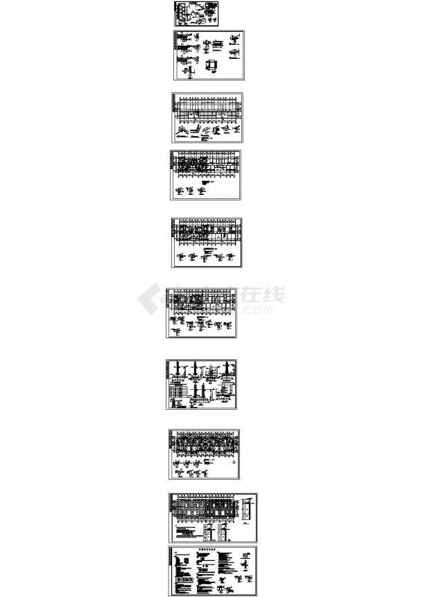 潍坊某五层砌体结构住宅带阁楼建筑结构施工图-图二