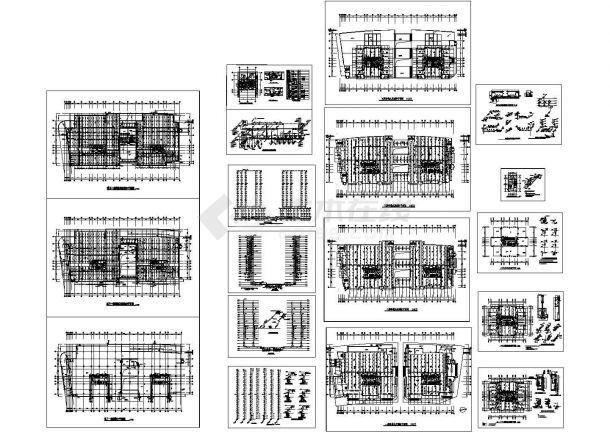 办公楼设计_某市二十四层高层办公楼给排水设计图-图一
