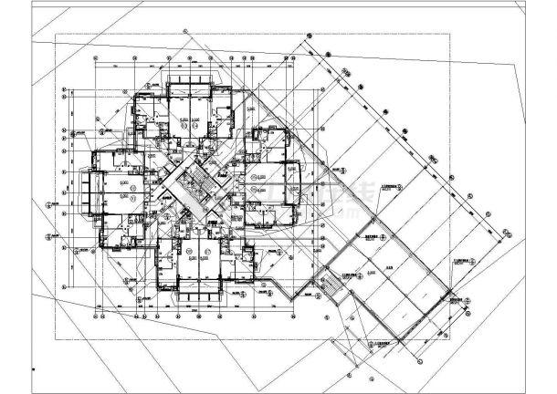 一类高层建筑防雷全套非常标准设计cad图纸-图二