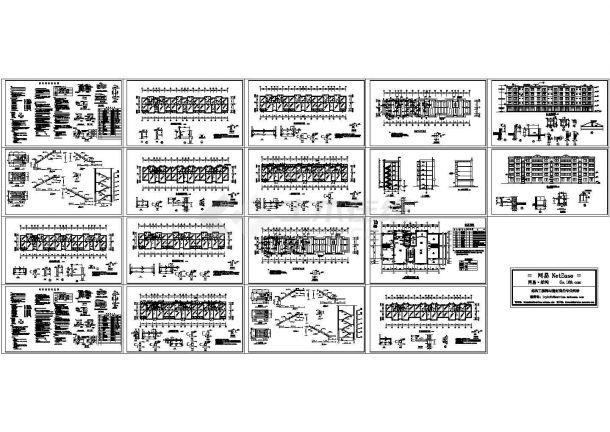 某5层砌体结构住宅结构施工设计图-图一