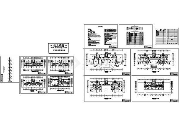 某十五层酒店暖通设计施工图-图一