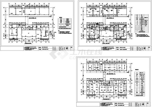公共建筑电气设计图纸(一)-图一