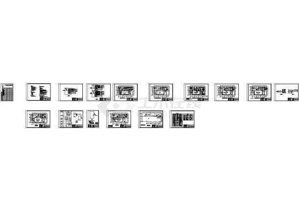 二级生物安全实验室配电设计图纸-图一
