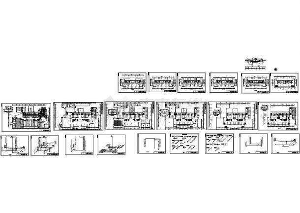某机关高层办公楼给排水给排水毕业设计(绘图细致)-图一