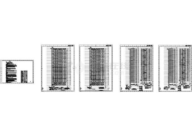 [施工图][安徽]二十八层商住小区强弱电设计图纸(新规范)(绘图细致)-图二