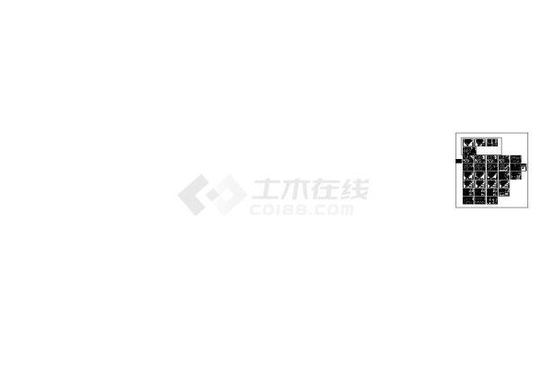 [福建]18层剪力墙结构公寓结构cad施工图-图二