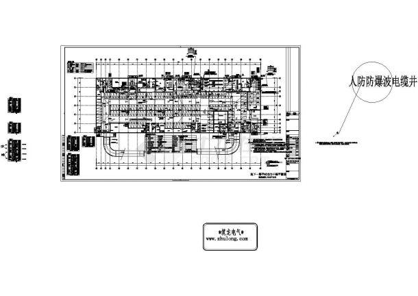 办公楼设计_[河南]综合办公楼强弱电施工图纸(含安保、楼宇自控、停车场智能管理系统)-图二
