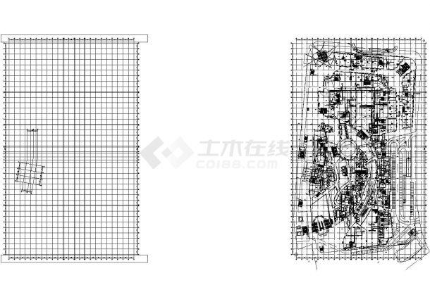 [青岛]商业综合楼暖通空调设计全套施工图-图一