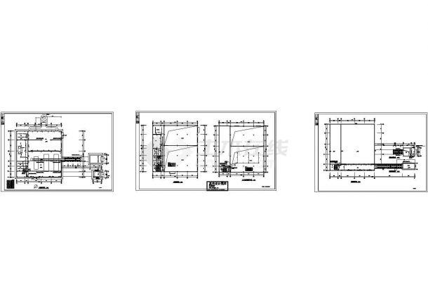 照明配电系统设计CAD图-图二