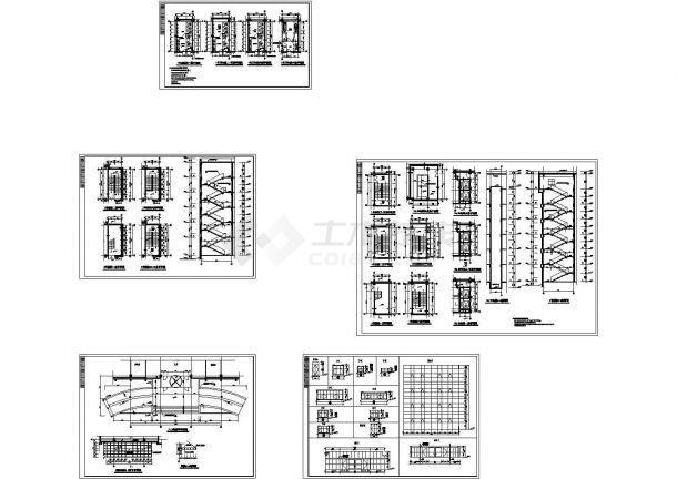 某多层砖混结构研发大楼建筑设计cad全套施工图纸(标注详细)-图一